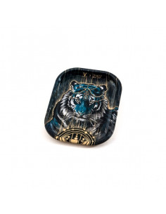 V-SYNDICATE TIGER SMALL metal rolling tray