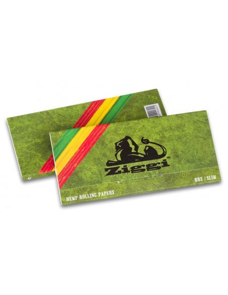 Ziggi HEMP URS king size Slim ultra thin bibułki z filterkami