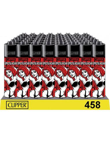 Clipper lighter RED LIGHT AMSTERDAM