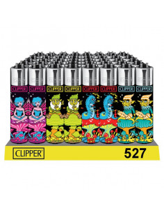 Zapalniczka Clipper TRIPPY LEVES