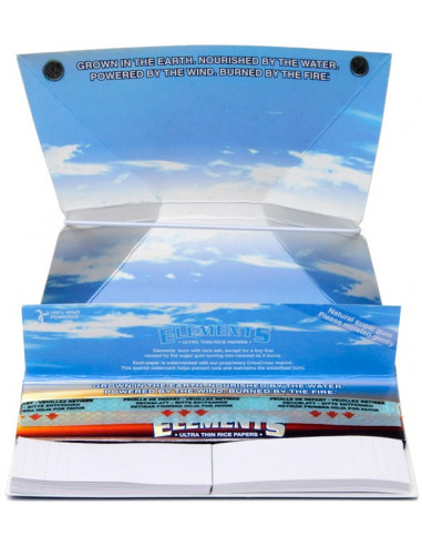 ELEMENTS artesano king size slim tissue papers with filters and tray 33