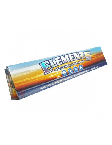 ELEMENTS King Size Slim tissue papers ultra-thin white