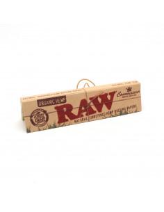 Bibułki z filterkami RAW Organic CONNOISSEUR King Size Slim