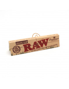 RAW Organic CONNOISSEUR King Size Slim filter papers