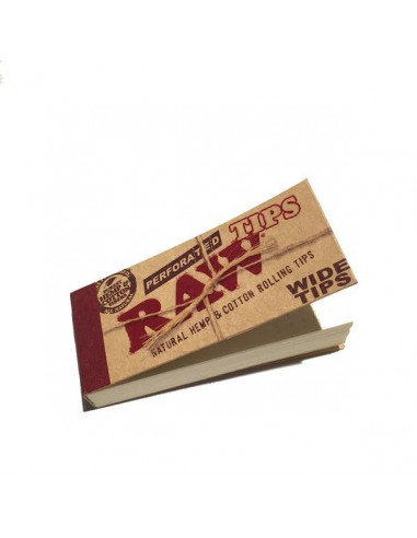 RAW Wide perforated tips 50 joint filters, whistles