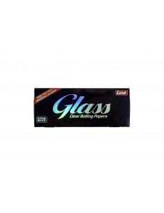 LUXE GLASS King Size Clear przezroczyste bibułki