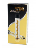 Szklany blunt V12 TWISTY Quartz glass Blunt lufka joint szklany