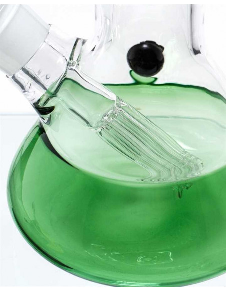 BEAKER GG BONG GREEN 50cm 4x6 Dyfuzor percolator fajka wodna lodowa