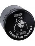 Młynek grinder Amsterdam Mask Aluminiowy 4 częściowy magnetyczny 50mm