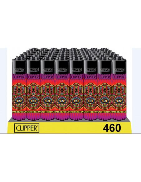 Zapalniczka Clipper wzór HAMSA