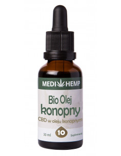 MEDI HEMP Olejek BIO CBD 10% 30ml