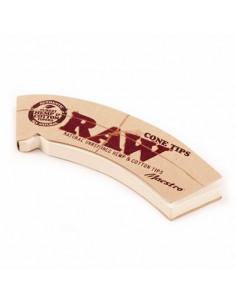 Obraz produktu: raw cone maestro zakrzywione filterki do jointów perforowane stożek