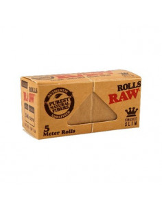 RAW Classic ROLLS slim tissue paper in a roll of 5 meters