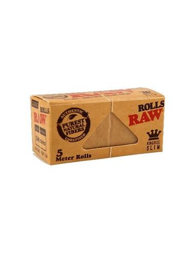 RAW Classic ROLLS slim bibułki w rolce 5 metrów
