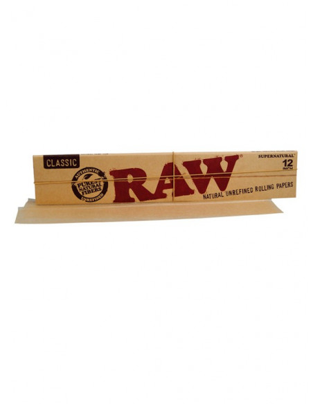 RAW CLASSIC HUGE 12inch (30cm) ogromne bibułki do jointów