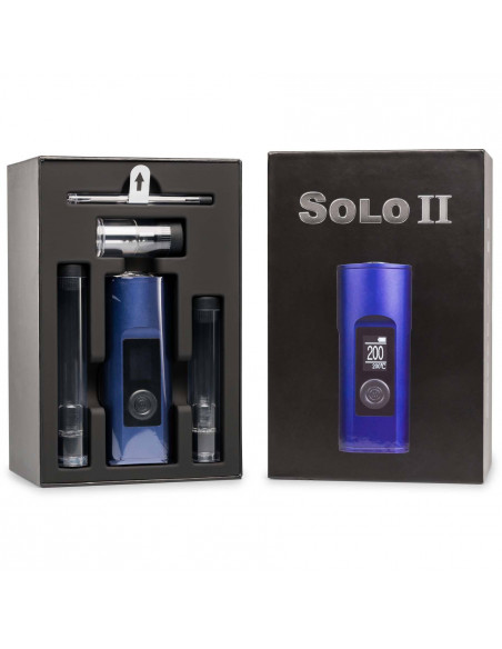Arizer Solo 2 portable vaporizer for drying