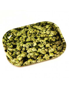 V-SYNDICATE BUDS rolling tray metal SMALL