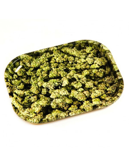 V-SYNDICATE BUDS tacka do zwijania jointów rolling tray metalowa SMALL