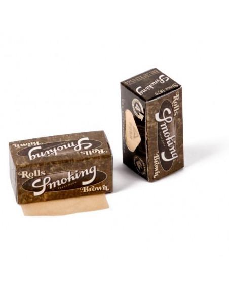 Smoking Rolls Brown niewybielane Bibułki