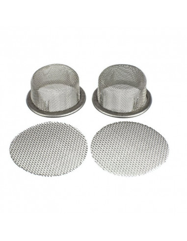 A set of screens for Arizer V-tower and Extreme-Q vaporizers