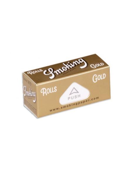 SMOKING GOLD ROLLS bibułki bletki w rolce