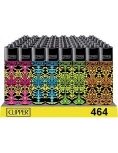 Zapalniczka Clipper TRANCE LEAF 4 wzory do wyboru