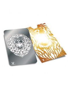 Karta grinder V-Syndicate wzór ROARING LION