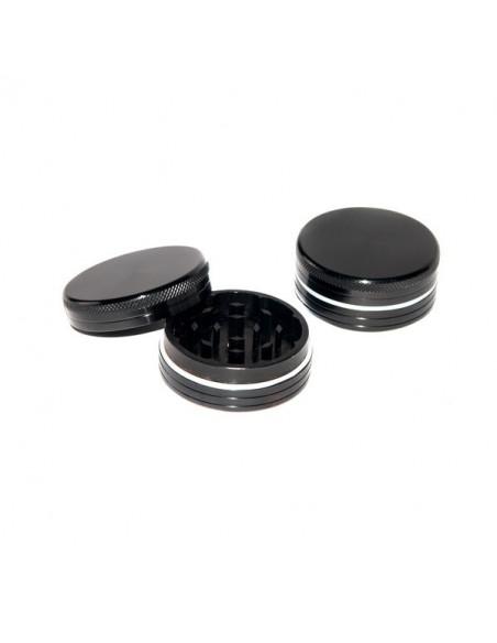 Młynek BLACK aluminiowy 2 częściowy 40mm