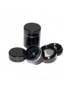 BLACK Grinder Grinder Aluminum magnetic 4 parts 40mm