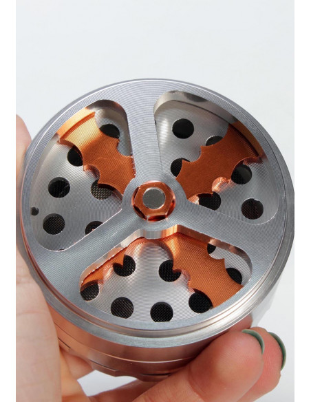 Propeller - Śmigło Młynek Grinder wiatrakowy aluminiowy 63mm 4-cz. SL