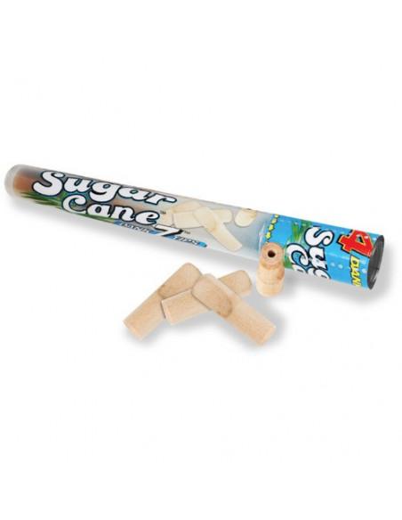 DANK7 XTRA TIPS SUGARCANE - ustniki do jointów bambusowe gwizdki