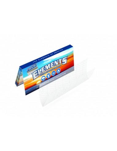 ELEMENTS 1/4 bibułki ultracienkie z papieru ryżowego krótkie