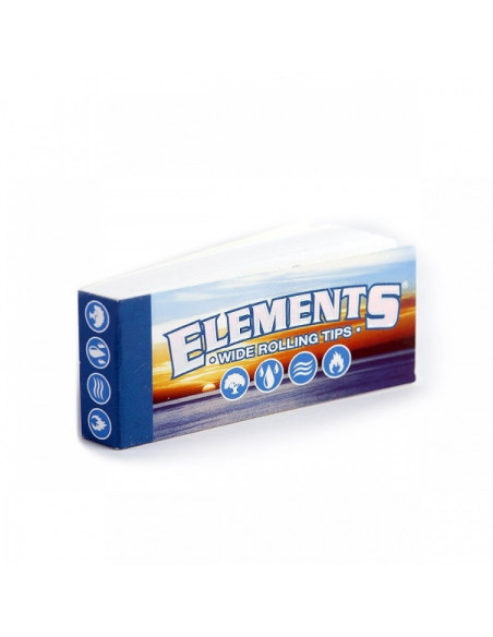 ELEMENTS Wide perforated tips 50 filterki do jointów gwizdki
