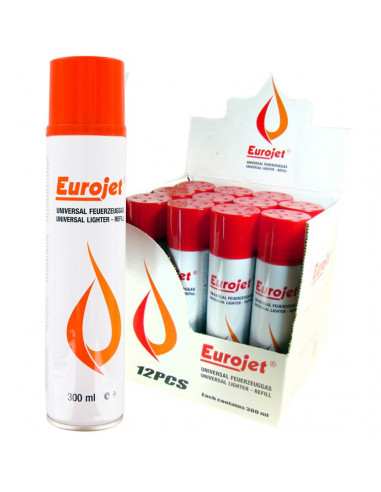 Gaz do zapalniczek EUROJET 300ml