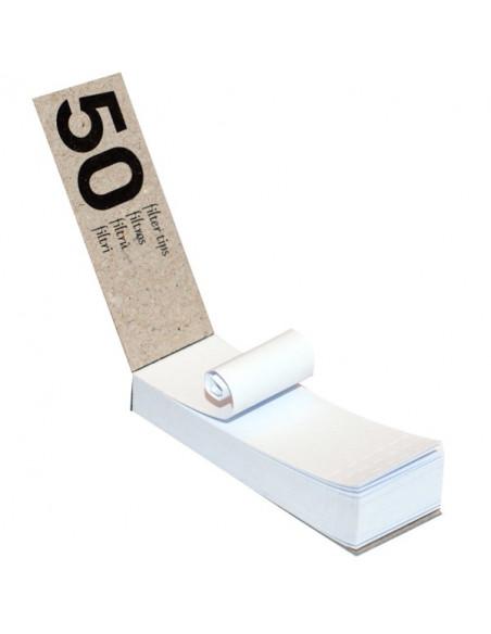 OCB Tips Filterki perforowane kartonowe 50 sztuk