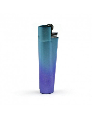 CLIPPER METAL Gradient Blue metal lighter - ICY Mix