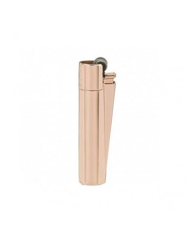 CLIPPER METAL Rose Gold metalowa zapalniczka - różowe złoto
