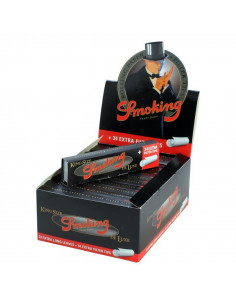Obraz produktu: smoking king size deluxe bibułki + filterki