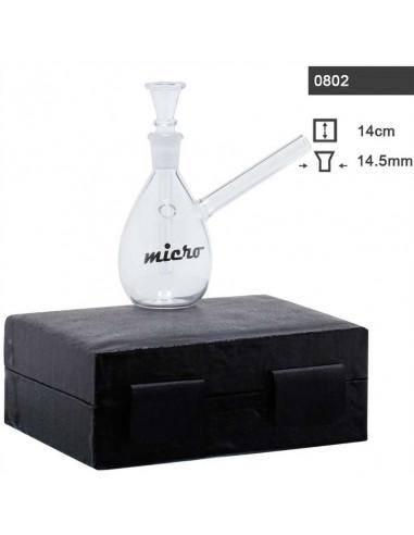 Micro Bongo w pudełku 14cm Fajka wodna w boxie bong