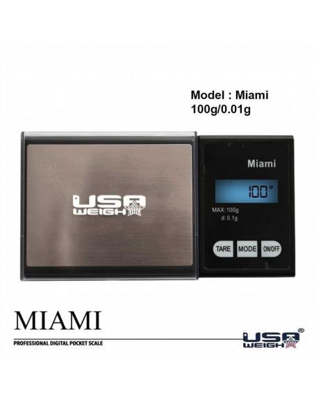 USA Weigh Waga elektroniczna MIAMI  0,01g 100g do suszu gram tare auto