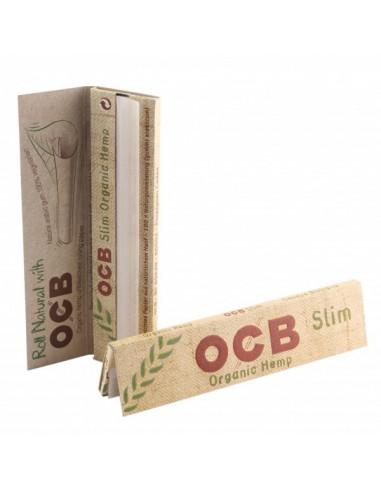 OCB ORGANIC Bibułki Slim ekologiczne bezchlorowe