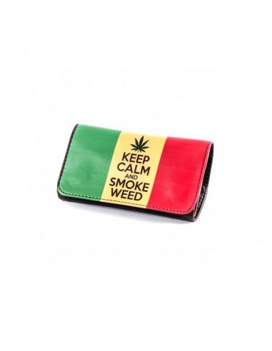 La Siesta Tobbacco Pouch KEEP CALM AND SMOKE etui saszetka na tytoń
