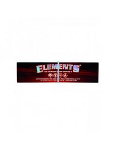 ELEMENTS RED CONNOISSEUR HEMP 2w1 Slim bibułki z filterkami z konopi
