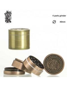 AMSTERDAM młynek grinder 40mm kraszer 4 częściowy do zioła