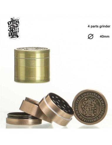 AMSTERDAM grinder grinder 40mm 4-piece grinder for herbs