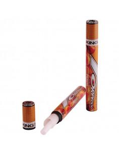 Obraz produktu: torpedoes king size peach bibułka w tubce skręcona bletka smakowa cones 109mm