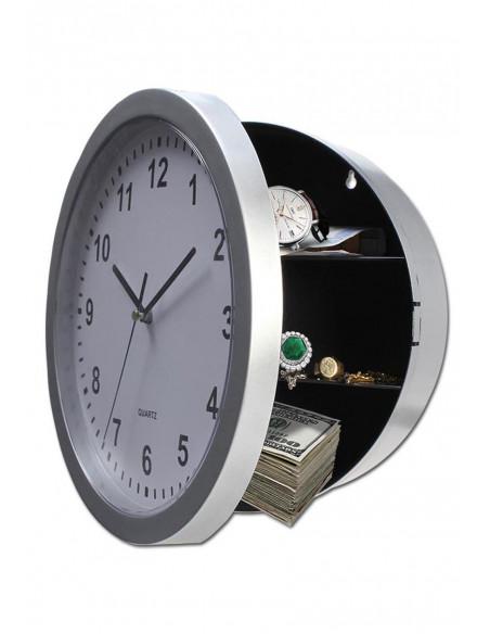 Zegar ścienny z skrytką zegar kuchenny z schowkiem