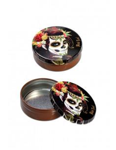 ClickClack Box Mexican Skull by Black Leaf pojemniczek schowek