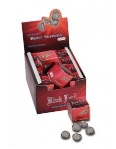 5 x Sitko koszyk Black Leaf 12,7mm do bonga fajki wodnej sitka
