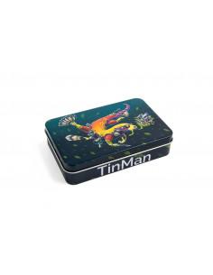TINMAN SEA DOG - Pies Morski Pudełko schowek metalowy TIN CASE puszka